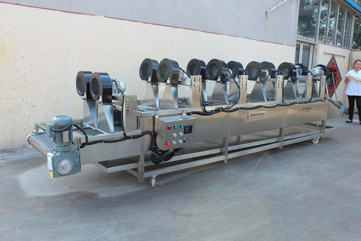 air-cooling and drying machine