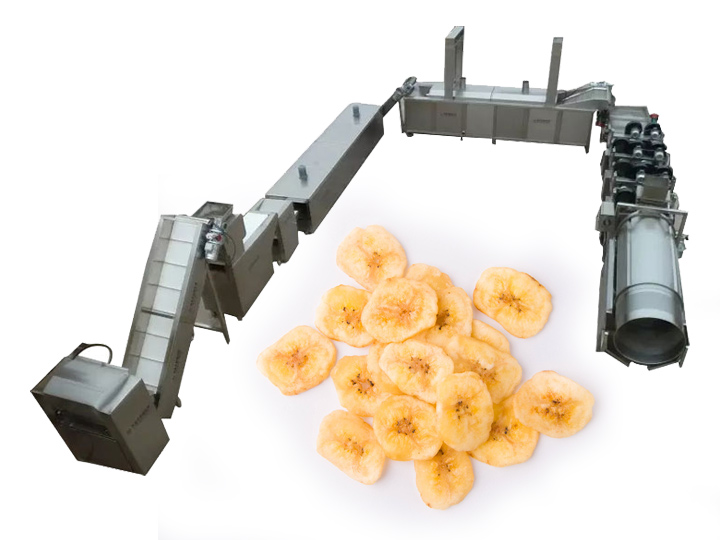 banana plantain chips making machine for sale