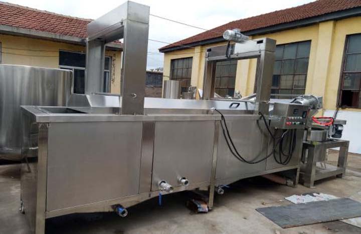continuous fryer machine