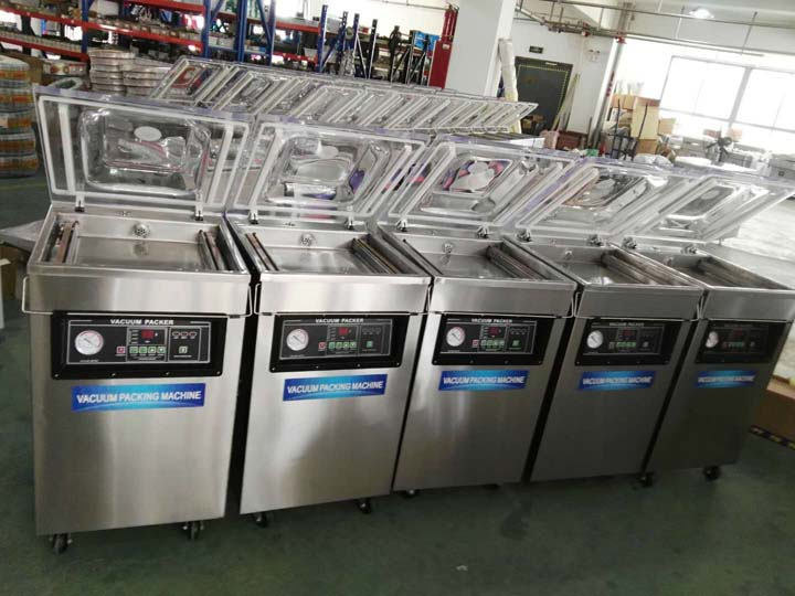 fries and chips vacuum packaging machines are in stock