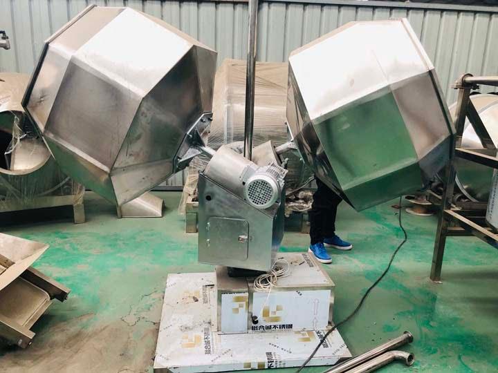 new-designed chips seasoning machine