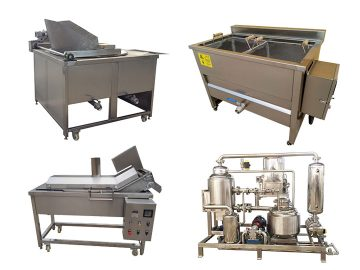 various potato chips and fries frying machines of Taizy