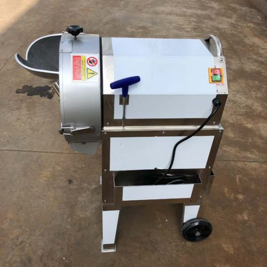 automatic potato cutting machine