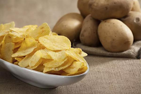 commercial potato chips processing with Taizy machines
