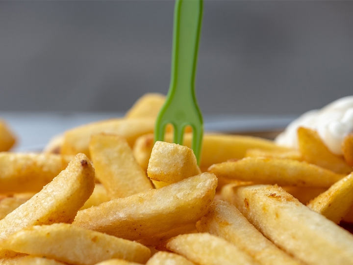 delicious french fries made by Taizy french fry machines