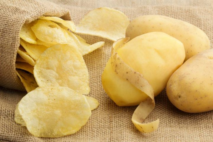 delicious potato chips making craft with Taizy machines