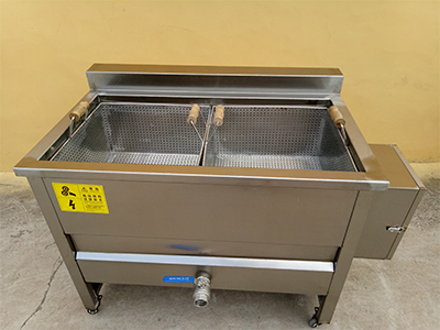 electric blanching machine