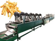 fully automatic french fries line of Taizy