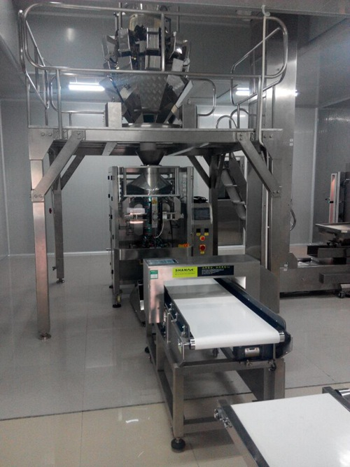 large french fries packaging machine