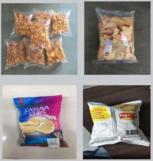 packaging effect of various food