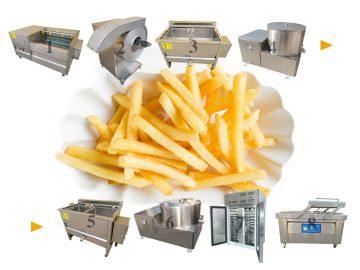 semi-automatic frozen fries plant