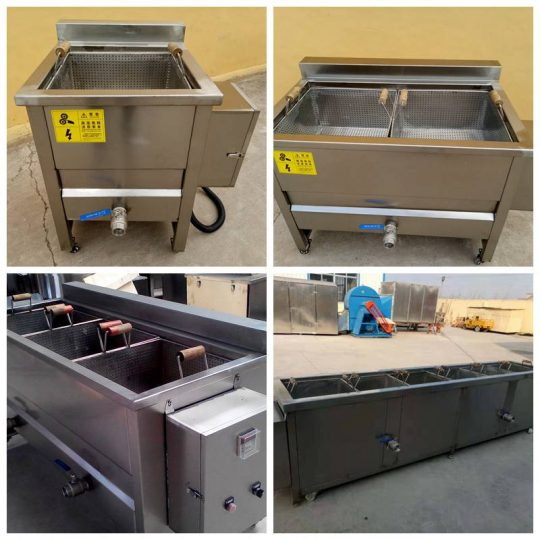 various frame deep fryers