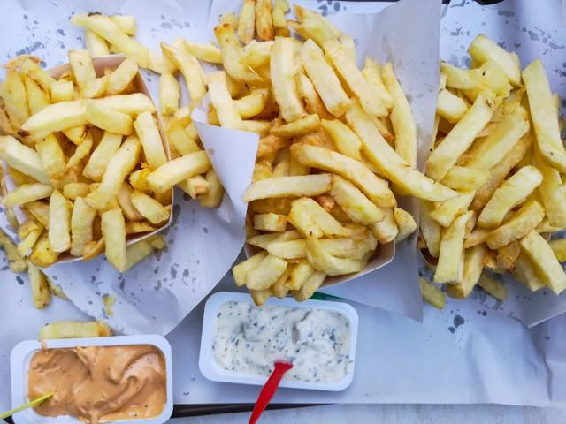 The daily fries diet in Belgium