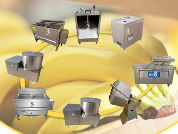 Taizy banana chips making machine for sale