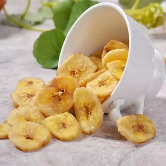 deep-fried plantain chips