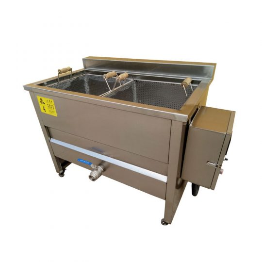 batch type blanching machine