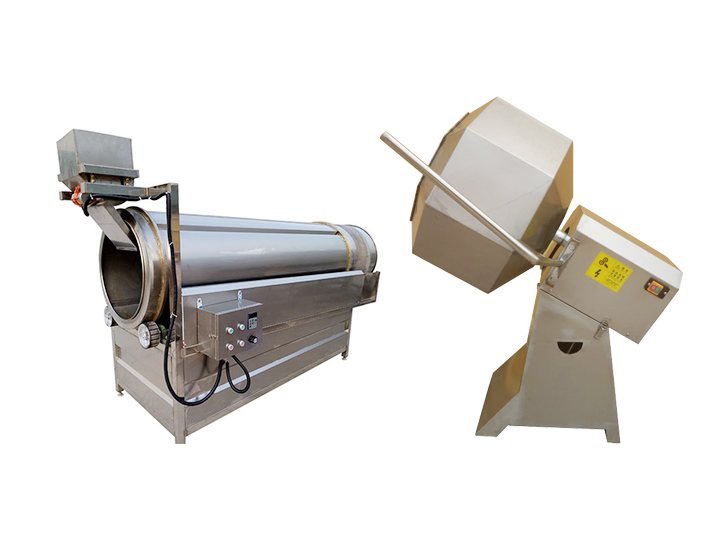 commercial chips and fries seasoning machine