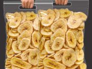 fried plantain chips production