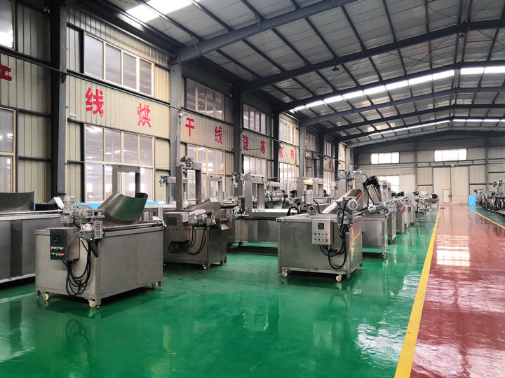 potato chips plant of Taizy factory