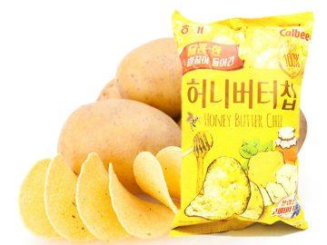 potato chips production