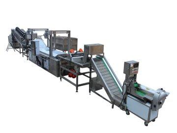 100kg/h Semi-Auto Banana Chips Production Line