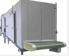 Fluidized quick-freezing machine