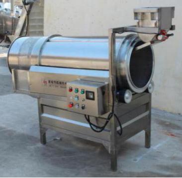 Roller flavoring machine