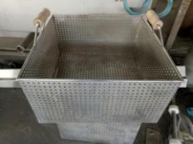 Frame for frying machine
