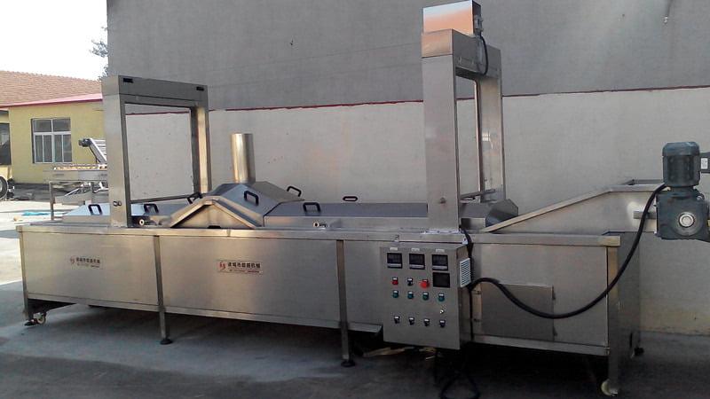 Blanching machine