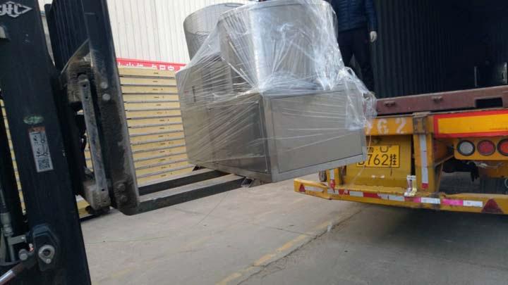 frozen fries machine shipment
